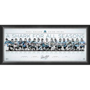 Paul Gallen Signed 'A Shark for All Seasons'