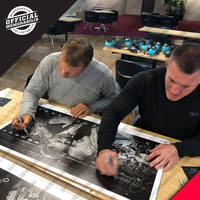 Paul Gallen & ET Dual Signed '50 Years of Tears'2