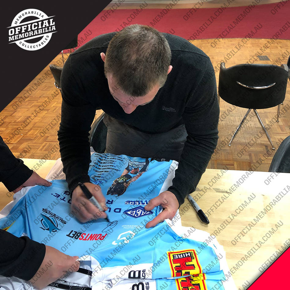 mainPaul Gallen Signed 'Greatness' Retirement Jersey Display2