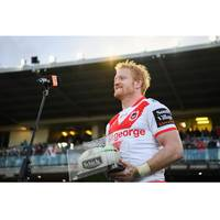 James Graham 400th Game Match-Worn & Signed Jersey4