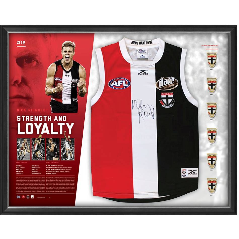 mainNICK RIEWOLDT SIGNED 'STRENGTH AND LOYALTY'0