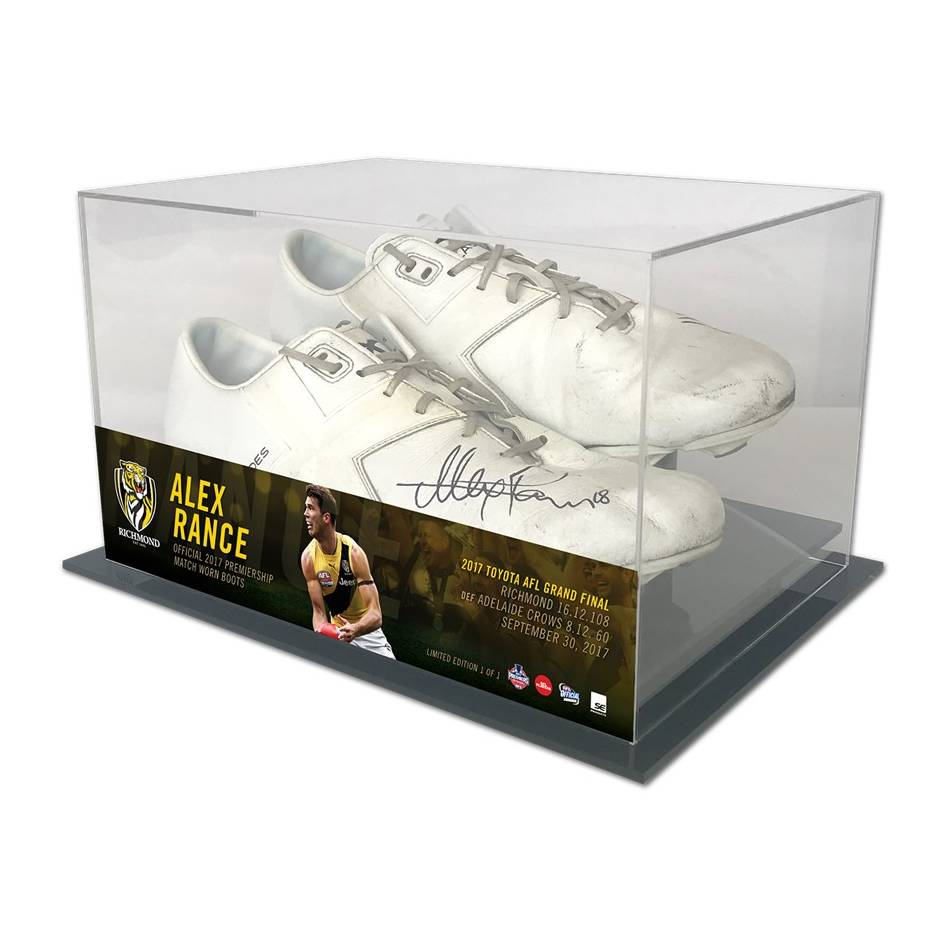 mainAlex Rance 2017 Grand Final Signed Match-Worn Boots0