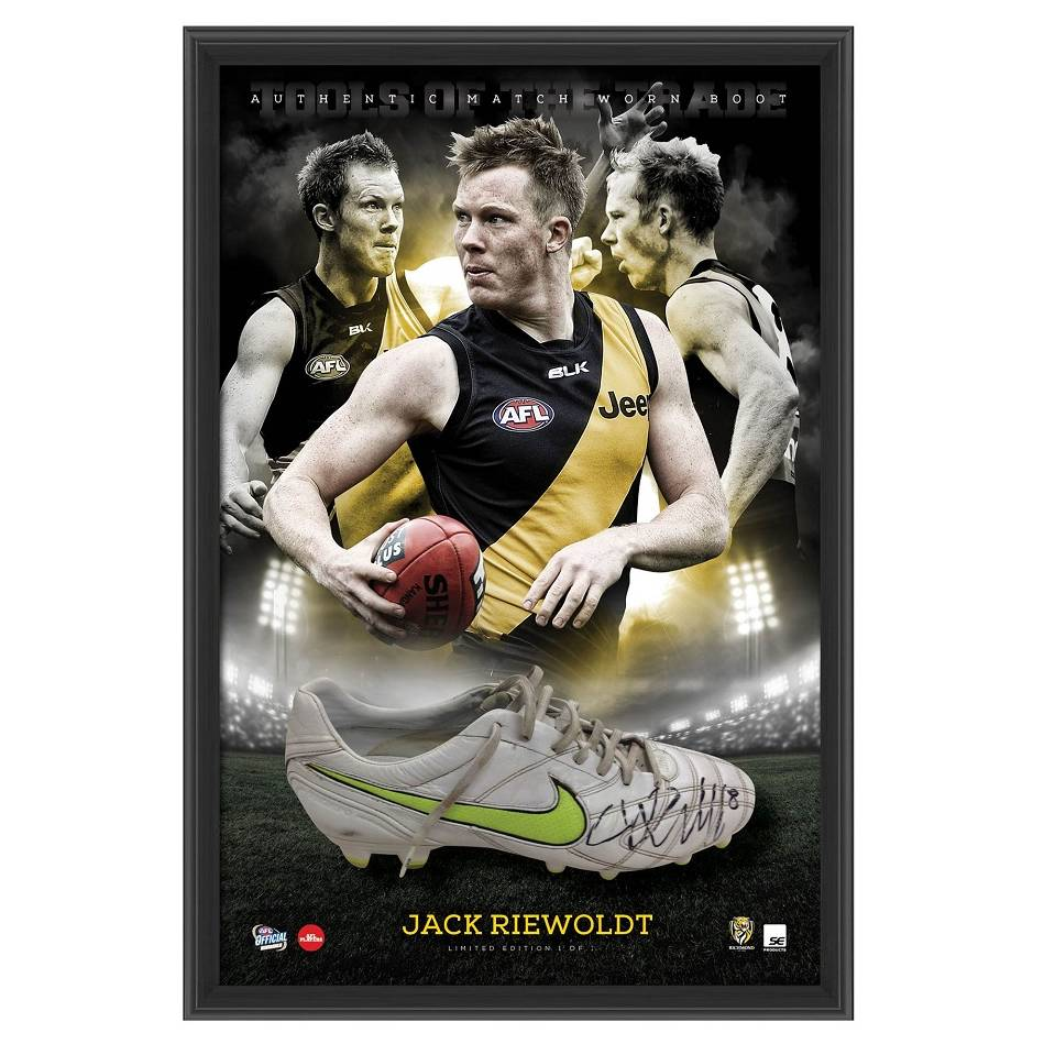 mainJACK RIEWOLDT SIGNED MATCH-WORN BOOT0