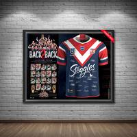 Sydney Roosters 2019 Premiers Team Signed Jersey1