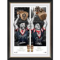 Sydney Roosters 2019 Premiers Dual Signed Icon Series0