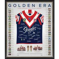 Sydney Roosters 2018/19 Premiers Team Signed Back to Back Jersey0