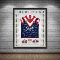 Sydney Roosters 2018/19 Premiers Team Signed Back to Back Jersey1