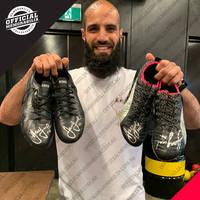 Bachar Houli 2019 Grand Final Signed Match-Worn Boots0