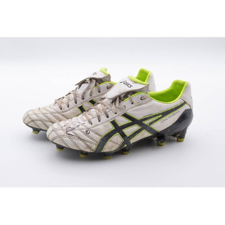mainShane Edwards 2019 Grand Final Signed Match-Worn Boots1