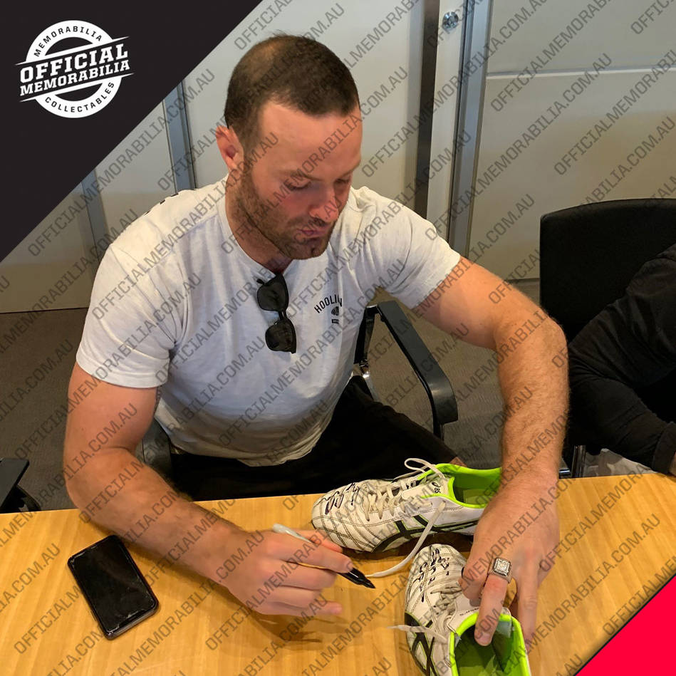 Boyd Cordner 2019 Grand Final Signed Match Worn Boots