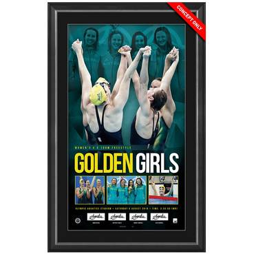 GOLDEN GIRLS SIGNED OLYMPIC CHAMPIONS