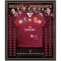 DECADE OF DOMINANCE SIGNED QLD JERSEY0