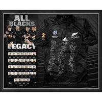 NZ ALL BLACKS 2019 Squad Signed Jersey0