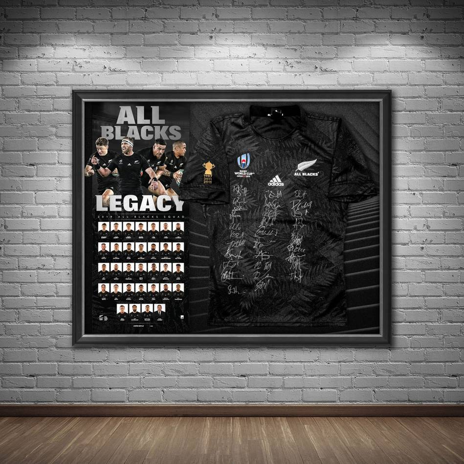 mainNZ ALL BLACKS 2019 Squad Signed Jersey1