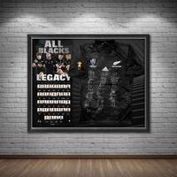 NZ ALL BLACKS 2019 Squad Signed Jersey1