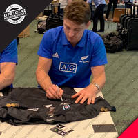 NZ ALL BLACKS 2019 Squad Signed Jersey3