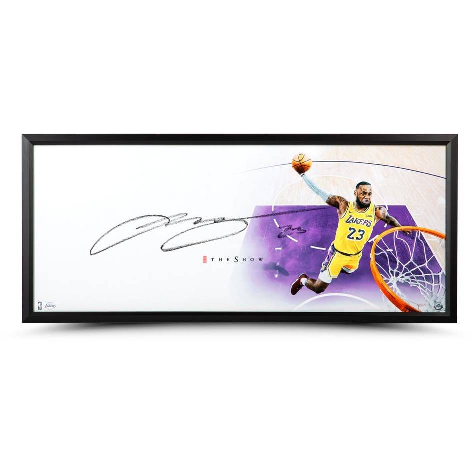 LeBron James Signed 'The Show'0