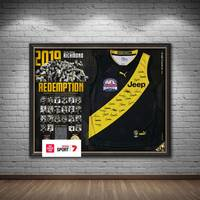 Richmond 2019 Premiers Team Signed Guernsey1