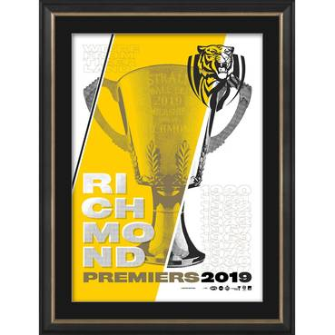 Richmond 2019 Premiers Hand-Printed Screen Print