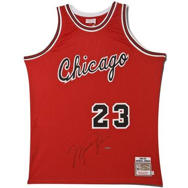 Michael Jordan Signed Chicago Bulls Rookie Jersey