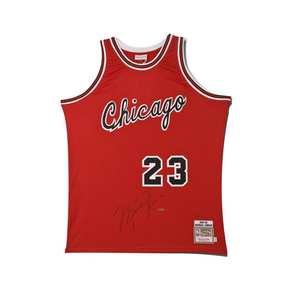 mainMichael Jordan Signed Chicago Bulls Rookie Jersey0