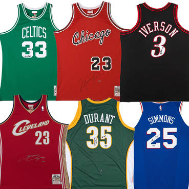 NBA Rookie of the Year Boutique Jersey Collection