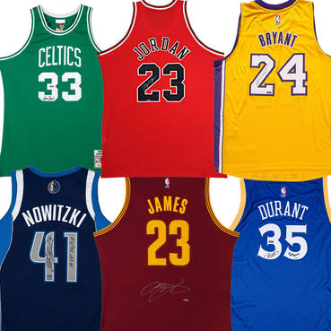 NBA Finals MVP Boutique Jersey Collection