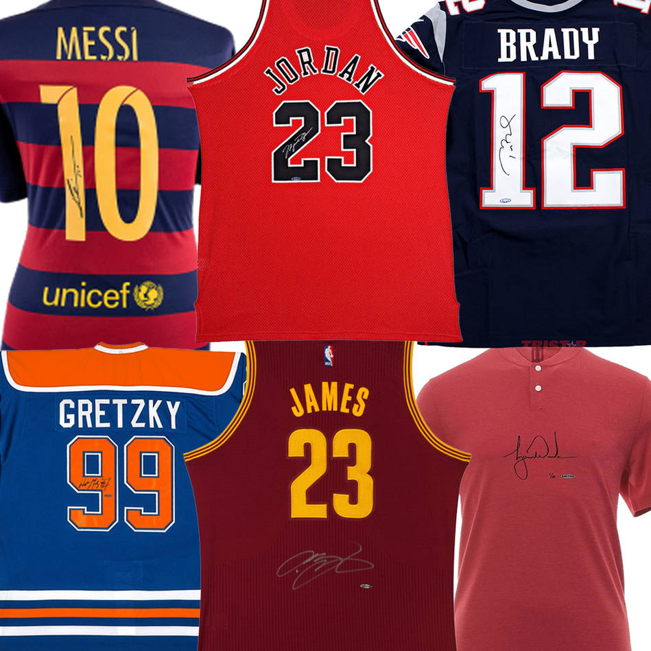 mainGreatest of all Time Boutique Jersey Collection0