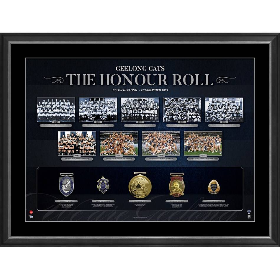 mainGEELONG CATS 'THE HONOUR ROLL'0