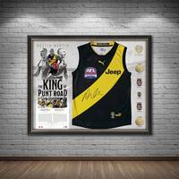 Dustin Martin Signed Deluxe Guernsey Display1
