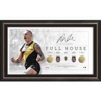 Dustin Martin Signed Full House Lithograph0