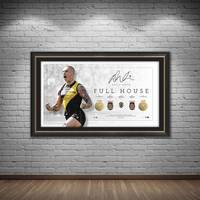 Dustin Martin Signed Full House Lithograph1