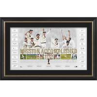Australia Team Signed Ashes Success Lithograph0
