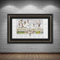 Australia Team Signed Ashes Success Lithograph1