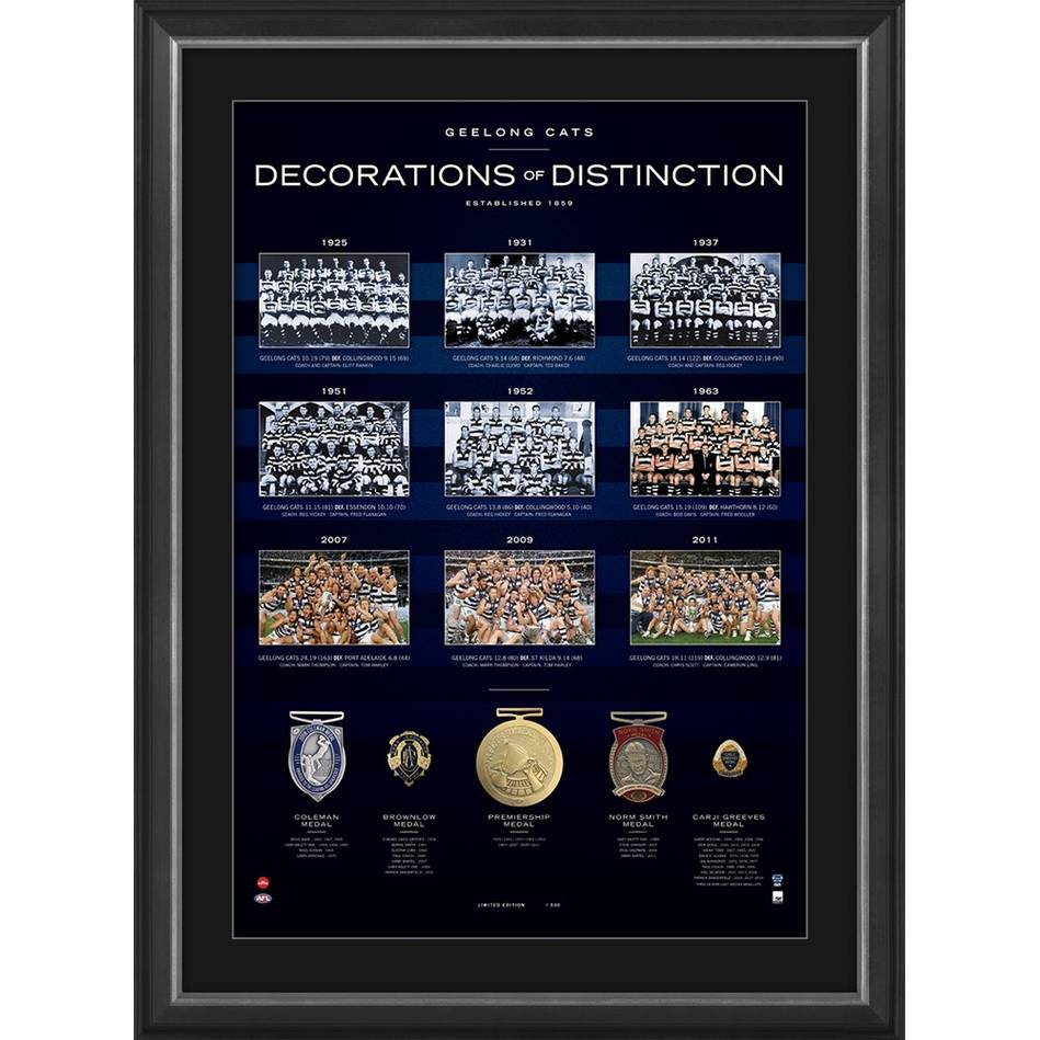 Geelong Cats 'Decorations of Distinction'0