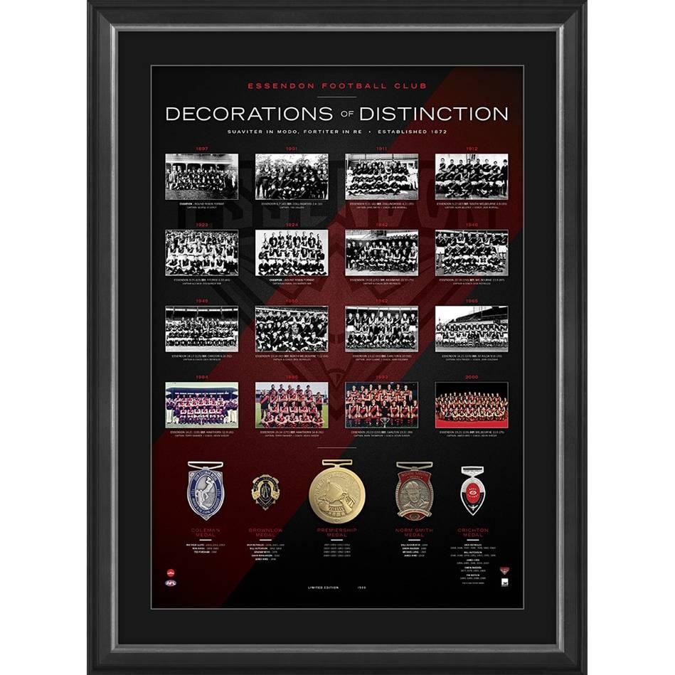 mainEssendon Football Club 'Decorations of Distinction'0