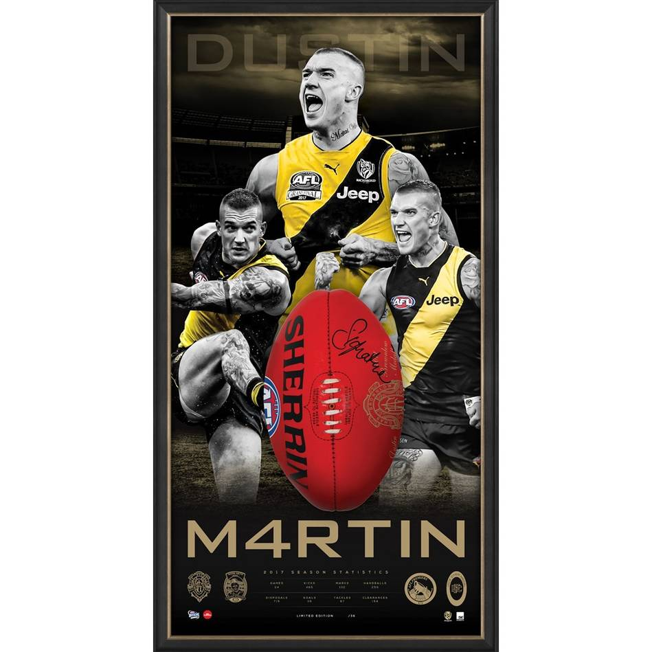 mainEDITION #1 – Dustin Martin Signed Brownlow Medal Ball Display0