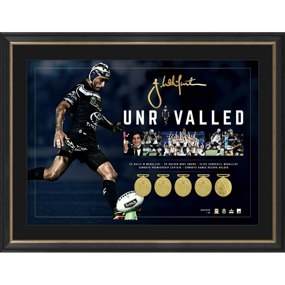 EDITION #1 – Johnathan Thurston Signed 'Unrivalled'0