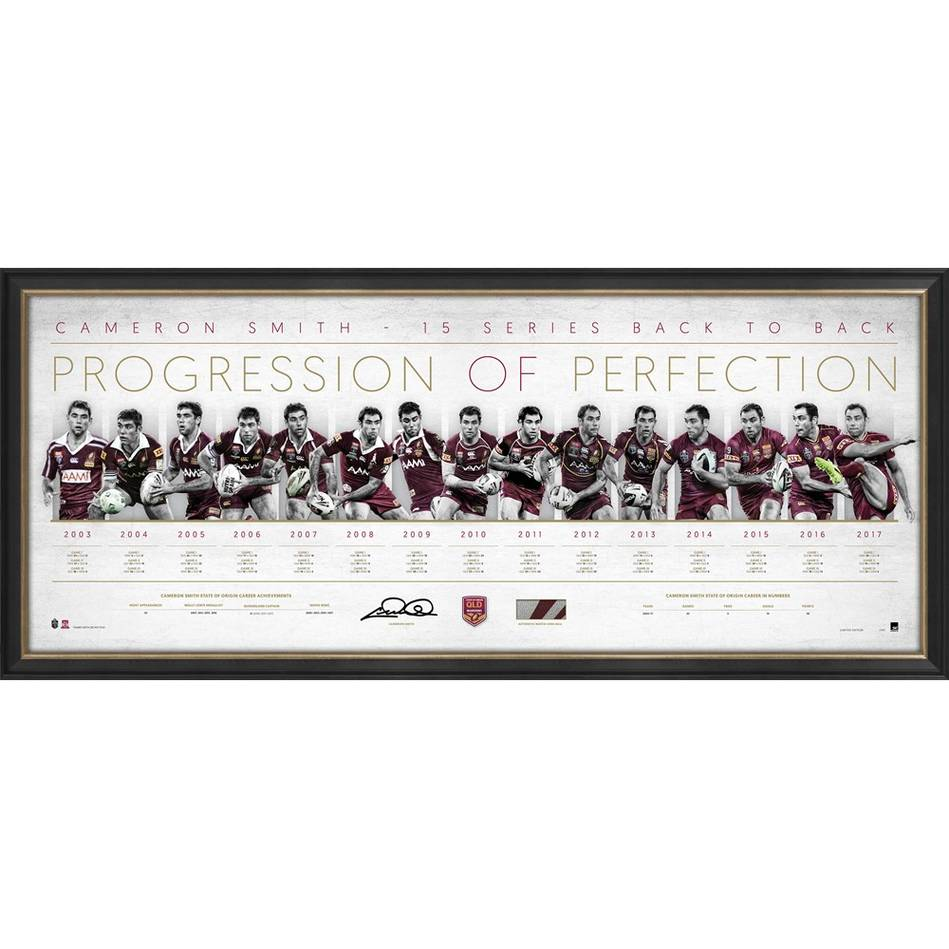EDITION #1 – Cameron Smith Signed 'Progression of Perfection'0