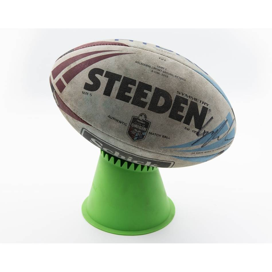 mainState of Origin 2018 Game I Signed Match-Used Ball0