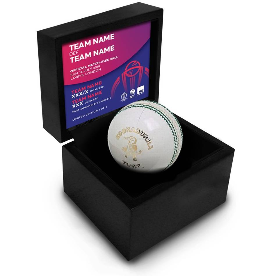 main2019 ICC World Cup Match-Used Ball - Afghanistan vs Sri Lanka0