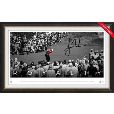 Tiger Woods Signed 'Royalty'