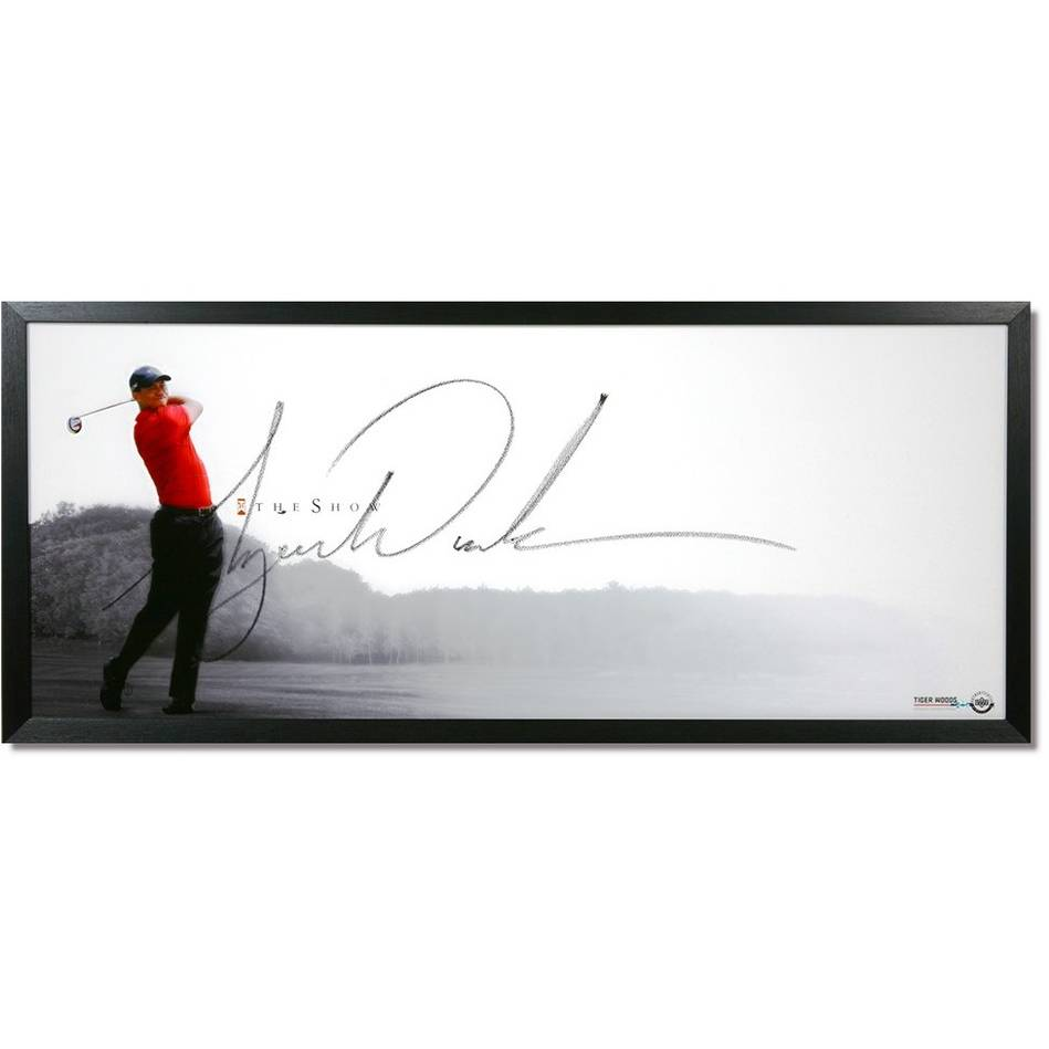 mainTiger Woods Signed 'The Show'0