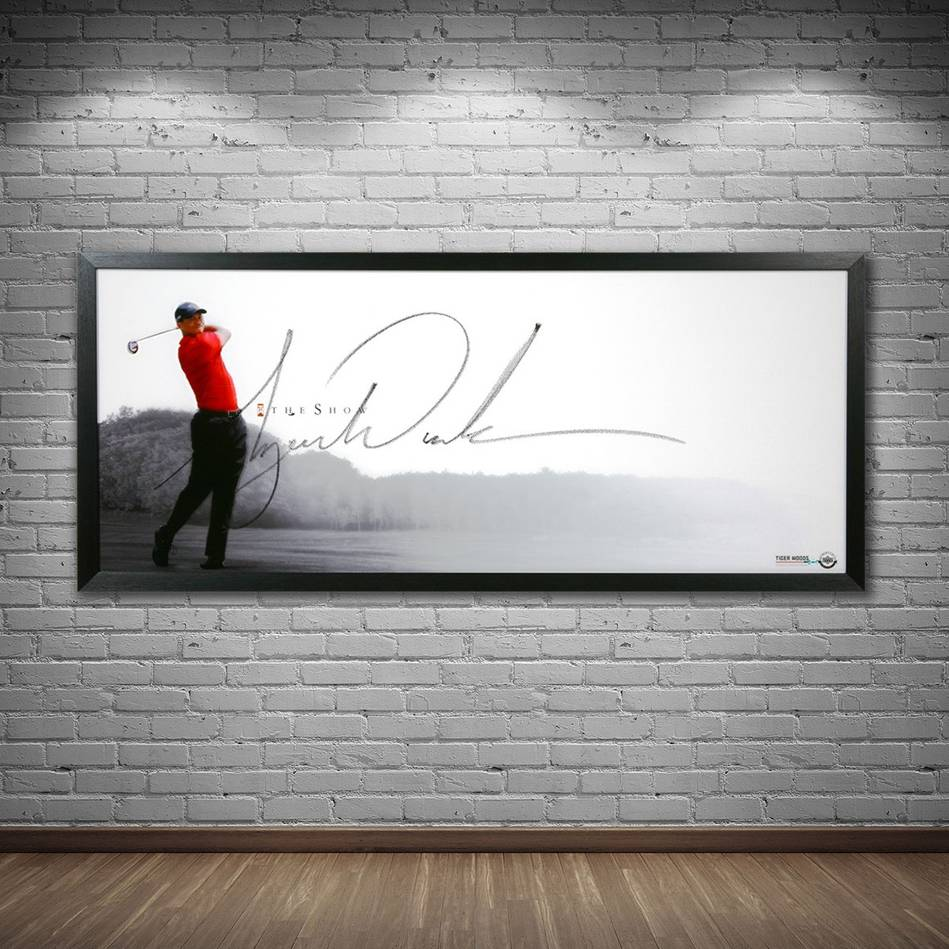 mainTiger Woods Signed 'The Show'1