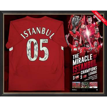 Liverpool 2005 UEFA Champions Signed 'Miracle of Istanbul'