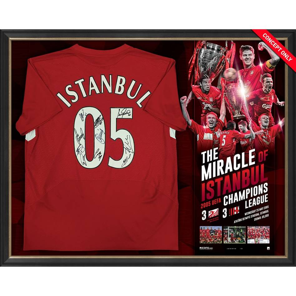 mainLiverpool 2005 UEFA Champions Signed 'Miracle of Istanbul'0