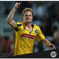Matt Simon 2019/20 Round 14 Signed Match-Worn Jersey1