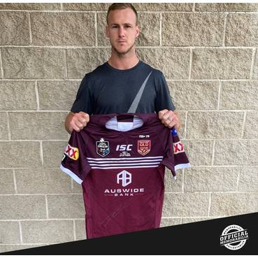 Daly Cherry-Evans 2019 State of Origin Game II Signed Match-Worn Jersey