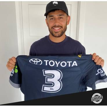 Jordan Kahu 2019 Signed Match-Worn Jersey - Final Cowboys Home Game