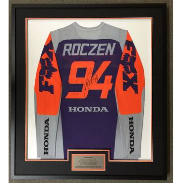 Ken Roczen Signed 2020 Race-Worn Jersey